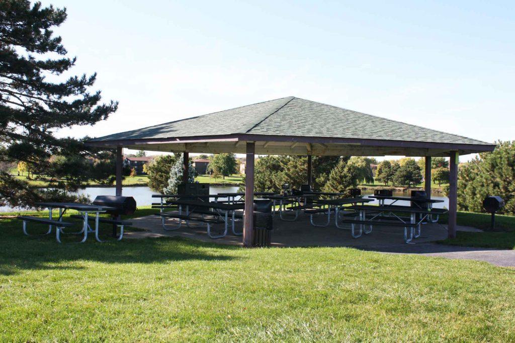 Century Park Island Picnic Shelter