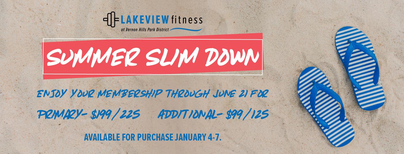 Lakeview_Fitness_Summer_Slim_Down_Slide